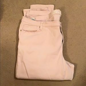 Seven7 plus size easy fit soft pink skinny jeans!